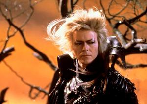 David Bowie as Jared the Goblin King in Labyrinth.