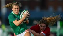 Beibhinn Parsons is unavailable for the rest of the Six Nations as she concentrates on the Leaving Cert. Photo by Ramsey Cardy/Sportsfile