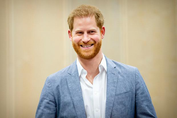 Prince Harry, Duke of Sussex during the launch of the Invictus Games on May 9, 2019 in The Hague, Netherlands. (Photo by Patrick van Katwijk/Getty Images)