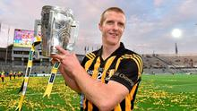 Kilkenny's Henry Shefflin with the Liam MacCarthy cup