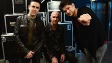 Glen Power, Mark Sheehan and Danny O'Donoghue from The Script. (Photo by Ian Gavan/Getty Images for Guinness)