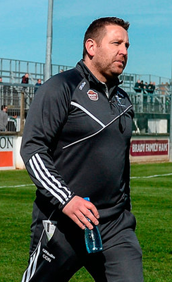 Kildare manager Cian O'Neill. Photo: Daire Brennan/Sportsfile