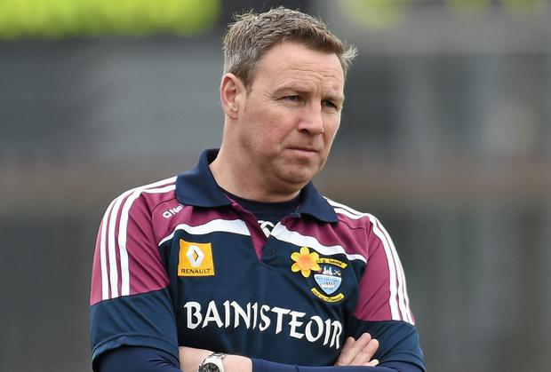 Former Westmeath manager Paul Bealin. Picture credit: Paul Mohan / SPORTSFILE