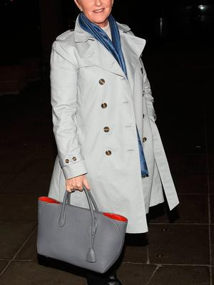 Majella O'Donnell after The Ray Darcy Show in March 2017