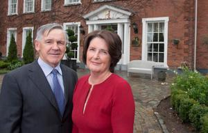 Hoteliers: Joe and Margaret Scally had their planning for a new 195-bed hotel refused. Photo: Michael Mac Sweeney/Provision