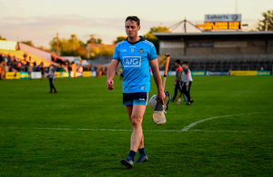 Dublin's Darragh O'Connell walks off the pitch at Nowlan Park after losing the Leinster SHC Round 1 match against Kilkenny last week.