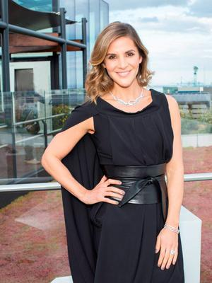 Amanda Byram pictured on Wednesday, 3rd June at The Marker hotel for the launch of the 2015 Dubai Duty Free Irish Derby
