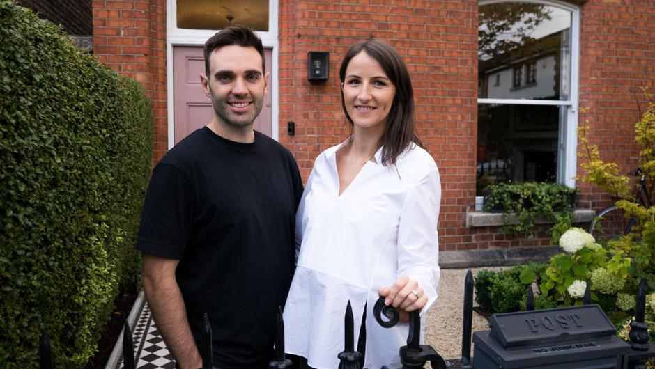 Kate and Cian O' Driscoll