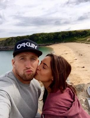 Nadia Forde and boyfriend Dominic Day