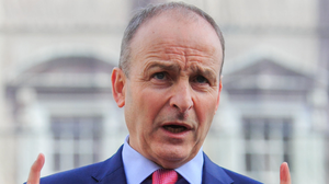Micheal Martin. Photo: Gareth Chaney/Collins