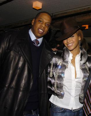Jay-Z and Beyonce Knowles in 2009