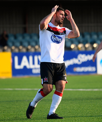 MISS: Patrick Hoban reacts during the clash against Waterford