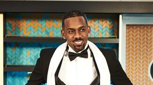 Hollyoaks has given fans a first glimpse of Richard Blackwood's character in the soap (Lime Pictures/PA)
