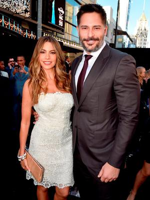 """Actors Sofia Vergara (L) and Joe Manganiello attend the premiere of Warner Bros. Pictures' """"Magic Mike XXL"""" at TCL Chinese Theatre IMAX on June 25, 2015 in Hollywood, California.  (Photo by Kevin Winter/Getty Images)"""