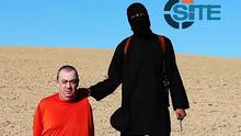 Still from a video released by ISIL