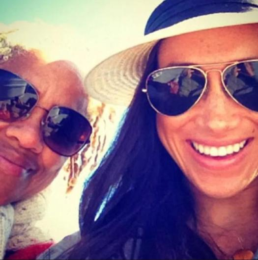 Doria Ragland and daughter Meghan Markle from Meghan's former Instagram page