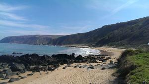 """The wonderful view from Kinnagoe Bay, Co. Donegal - Inishowen's hidden treasure!"" Photo by Áine Grant."