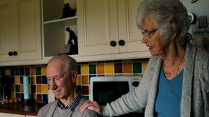 Jack Charlton and his wife Pat in the documentary Finding Jack Charlton