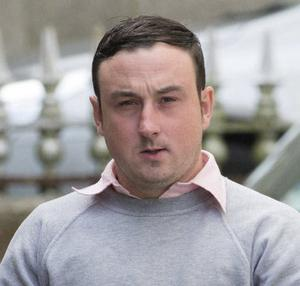 Aaron Brady has pleaded not guilty to murder and robbery. Photo: Ciara Wilkinson