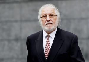 DJ Dave Lee Travis arrives at Southwark Crown Court in London, as the retrial of Travis over historic sex abuse allegations is expected to open. Travis, faces a retrial on two counts, one of indecent assault and one of sexual assault, which a jury was unable to reach verdicts on at a trial earlier this year. The 69-year-old has also pleaded not guilty to an additional count of indecent assault alleged to have taken place in 1995 (Gareth Fuller/PA Wire)