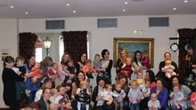 The group of virtual mums met for the first time last weekend