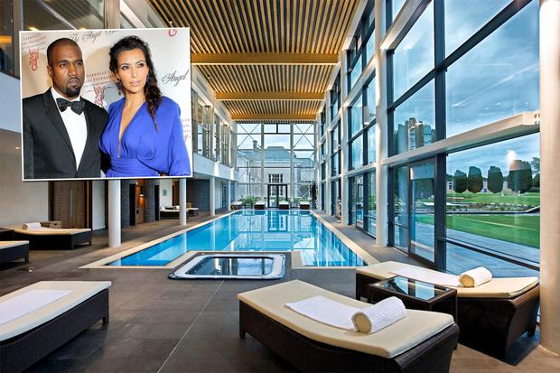 Honeymooners Kim Kardashian and Kanye West are rumoured to be staying in Castlemartyr Resort in Cork