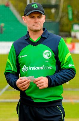 Ireland captain William Porterfield will lead his side in their defence of the InterContinental Cup next month