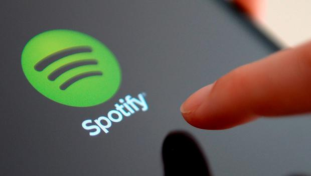 Music streaming service Spotify logo Photo: PA