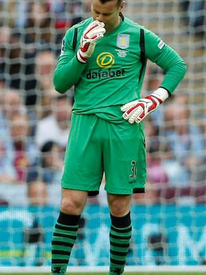 Shay Given was disappointed by Aston Villa's defeat but is now concentrating on his future duties