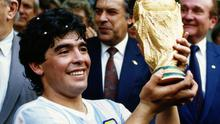 'Diego Maradona belongs on that list among men whose legacy to the sport cannot be measured in trophies won or money earned.' Photo: Getty Images