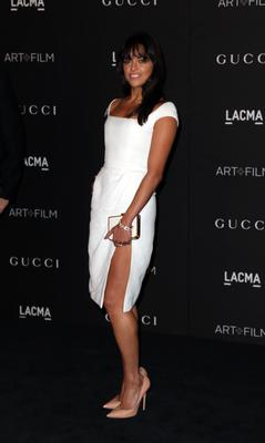 Actress Michelle Rodriguez attends the 2014 LACMA Art + Film Gala honoring Barbara Kruger and Quentin Tarantino presented by Gucci at LACMA