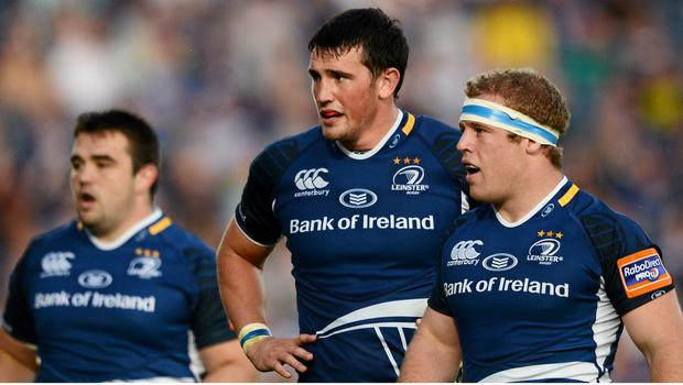 Tom Sexton in action for Leinster in 2012. Picture credit: Stephen McCarthy / SPORTSFILE