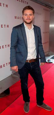 Jack Reynor pictured at the preview screening of Macbeth at the Light House Cinema, Smithfield. Picture: Patrick O'Leary