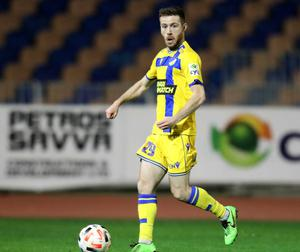 Jack Byrne made the move to Apoel from Shamrock Rovers. Photo by Nicos Savvides/Sportsfile