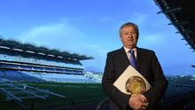 GAA director-general Páraic Duffy at the launch of his annual report at Croke Park