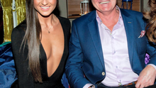 Lynn Kelly and Brent Pope