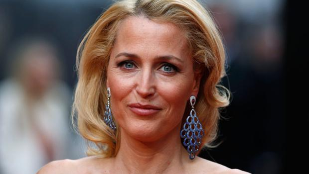 US actress Gillian Anderson at the Lawrence Olivier Awards for theatre at the Royal Opera House in central London on April 12, 2015. Photo:JUSTIN TALLIS/AFP/Getty Images