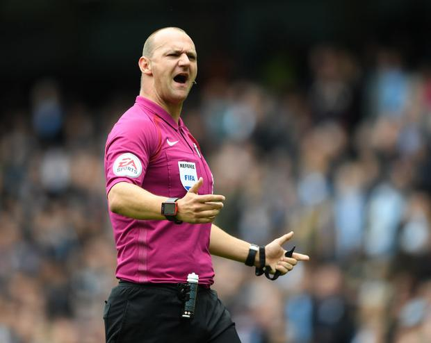 Former Premier League referee Bobby Madley
