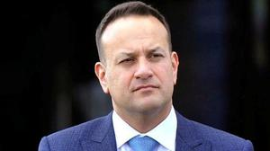 GALLING: Leo Varadkar may have no choice but to allow the leader of the Opposition dictate the timing of the next election. Photo: PA Wire.