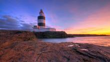"""Hook Head Lighthouse, voted """"world's flashiest"""" by Lonely Planet."""