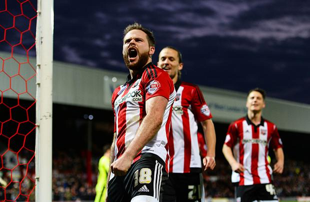Alan Judge of Brentford. (Photo by Justin Setterfield/Getty Images)