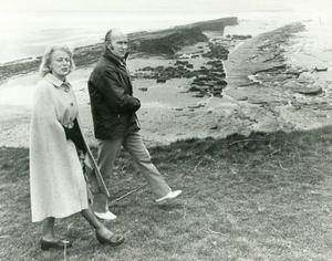 Former Irish President Mr Patrick Hillery and his wife Maeve