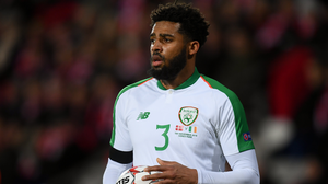 Ireland international Cyrus Christie. Photo by Stephen McCarthy/Sportsfile