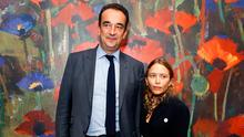 Olivier Sarkozy and  Mary-Kate Olsen attend  the 2017 Take Home A Nude Art Party and auction at Sotheby's on October 11, 2017 in New York City.  (Photo by John Lamparski/WireImage)