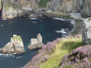 Olive Simpson says the Slieve League cliffs in Donegal are Ireland's best view.