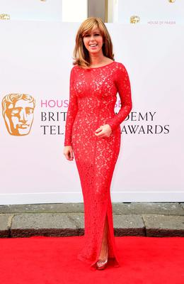 Kate Garraway arrives for the House of Fraser British Academy of Television Awards at the Theatre Royal, Drury Lane in London. PRESS ASSOCIATION Photo. Picture date: Sunday May 10, 2015. See PA story SHOWBIZ Bafta. Photo credit should read: Ian West/PA Wire