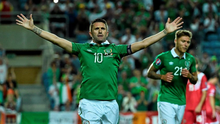 Robbie Keane scored a brace in the victory over Gibraltar tonight