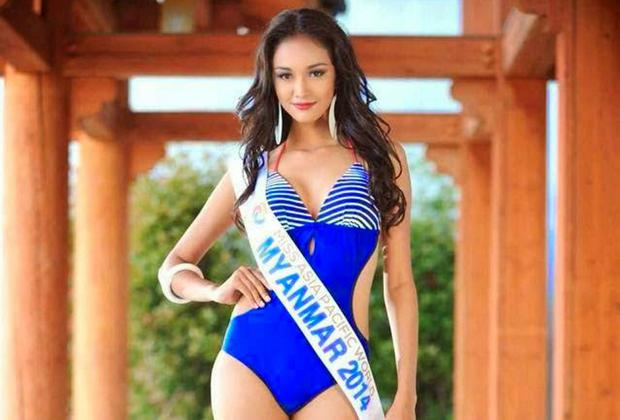 May Myat Noe has been dethroned by a South Korean pageant