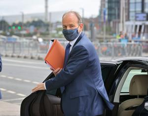 Taoiseach Micheal Martin said he is concerned about the spread of the virus . Picture Credit:Frank McGrath, 15/7/20