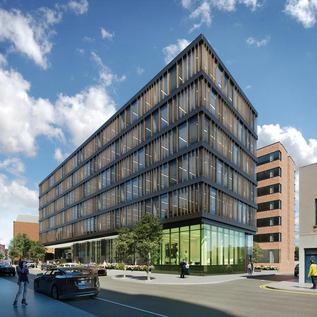 Extra space: Cumberland Place is due to complete this year